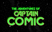 Captain Comic - The Adventures of - náhled