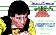 Alex Higgins World Snooker - náhled