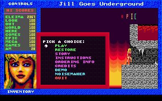 Jill of the Jungle - Jill Goes Underground - náhled