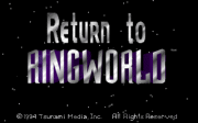 Return to Ringworld - náhled
