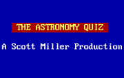 Astronomy Quiz, The - náhled