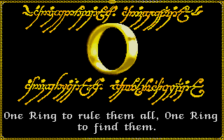 Lord of the Rings Vol. I, The