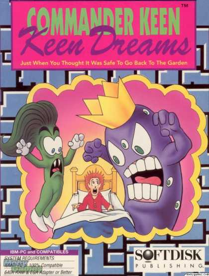 Commander Keen 7: Keen dreams - náhled