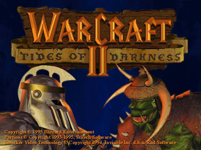 WarCraft 2: Tides of Darkness - náhled