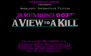 007 - A View to Kill - náhled