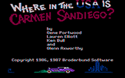 Where in the USA is Carmen Sandiego CGA - náhled