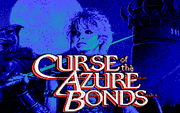 Curse of the Azure Bonds - náhled