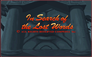 In Search of the Lost Words - náhled