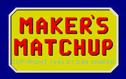 Makers Matchup - náhled