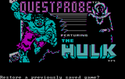 Questprobe Featuring The Hulk - náhled