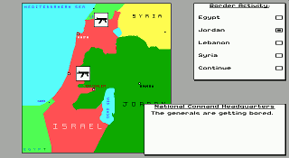 Conflict - Middle East Political Simulator