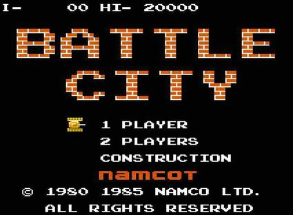 Battle City - náhled