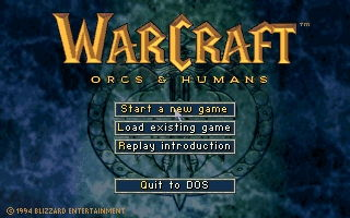 WarCraft 1: Orcs and Humans - náhled